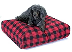 Snoozer Rectangle Pillow Pet Bed, Rectangle, All Fabric, X-Large, Illusions Print