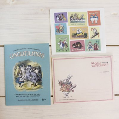 ALICE CARD COLLECTION - Congratulations 14