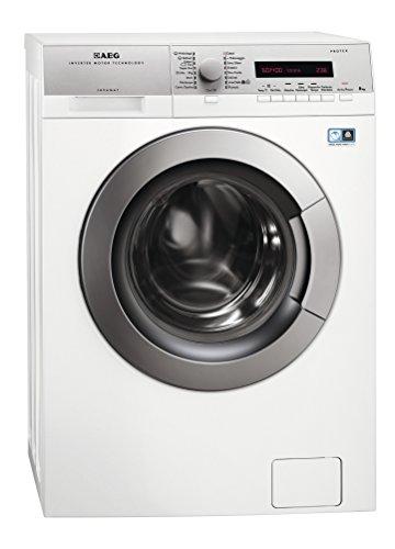 AEG L74486FL Libera installazione Caricamento frontale 8kg 1400Giri/min A+++-10% Bianco lavatrice