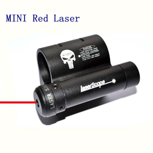 Yes Outdoor MINI Red Laser Dot Scope Sight with 25mm Ring 20mm Weaver Rail Mount