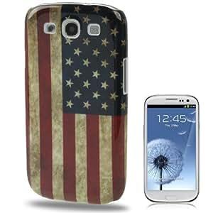 Smart Protectors! Hardcase / Hülle / Schutzhülle für Samsung Galaxy SIII i9300 / S3 / S 3 USA FLAGGE RETRO