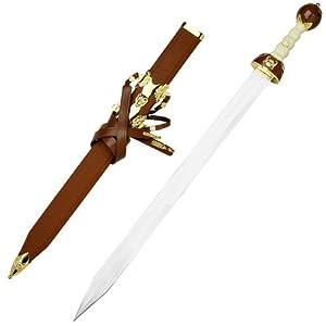 Amazon.com : Maximus Roman Gladiator Sword Medieval Gladius w/ Scab