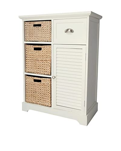 Gallerie Décor Newport Storage Chest, Cream As You See
