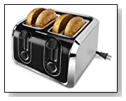 Black & Decker TR1400SB 4-Slice Stainless-Steel Toaster