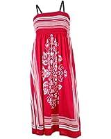 NY Deal Women's Smoked Tube Dress Cover Up