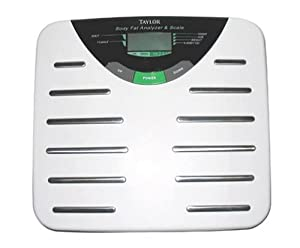 taylor body fat analyzer and scale 5557 manual
