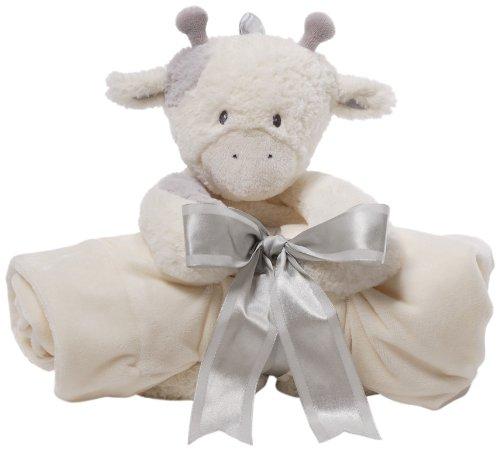 Gund Baby Blanket Set, Golly Gray Giraffe (Discontinued by Manufacturer)