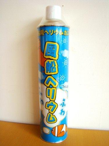 風船用ヘリウムガス ふわふわ缶 11.6L