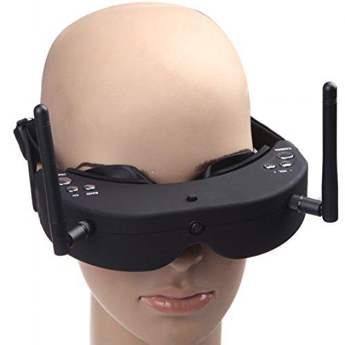 CHICHO SkyZone SKY-01 RC FPV AIO Goggles 5.8G 32CH Head Tracing Glass Receiver External Lens