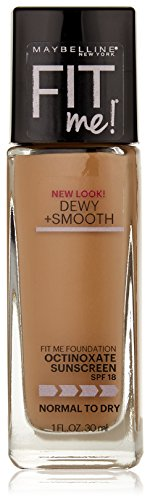 Maybelline New York Fit Me! Foundation, 220 Natural Beige, SPF 18