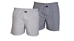 Careus Men's Cotton Boxers (Pack of 2)(1013_1015_Multi-coloured_Medium)