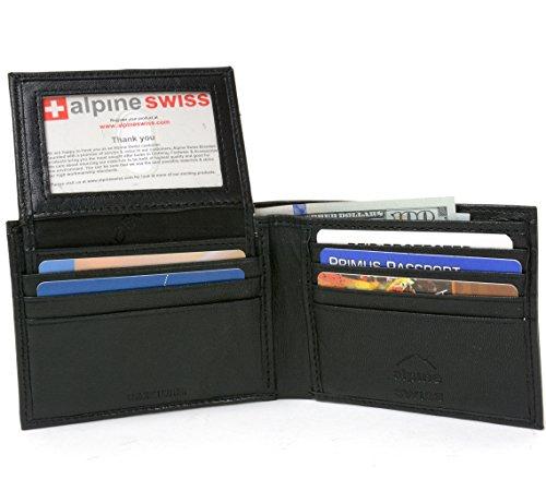 alpine-swiss-mens-2-in-1-bi-fold-wallet-card-case-black