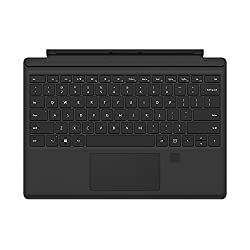 Microsoft Surface Pro 4 Type Cover with Fingerprint ID (Black)