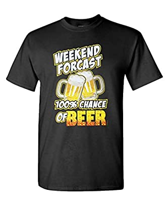 GOODER TEES - CHANCE OF BEER - Mens Cotton T-Shirt