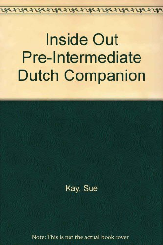 Inside Out: Pre-intermediate: Dutch Companion