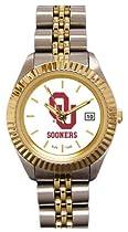Oklahoma Sooners- (University of) Ladies Executive Stainless Steel Sports Watch