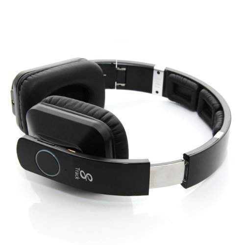 Bluedio R2 Bluetooth 4.0 Stereo Headset(Black), Original 8 Sound Tracks, Hi-Fi Monitoring, Headphones, With Optional 3.5Mm Cable