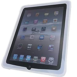 Apple Ipad Tablet 16GB 32GB 64GB Wi-Fi WiFi 3G Soft CLEAR SILICONE Skin Sleeve Cover Case