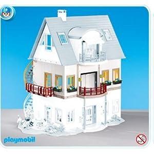 Playmobil 7387 etage suppl mentaire pour villa moderne a for Casa moderna playmobil 9266