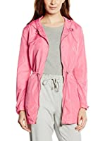 Add Chaqueta Larga Hooded (Rosa)