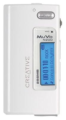 buy Creative Muvo Micro N200 256 Mb Mp3 Player White