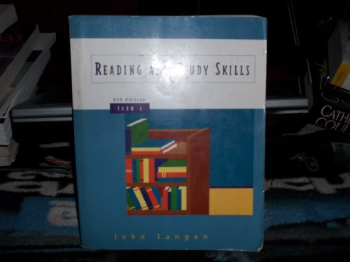 Reading and Study Skills, Form A