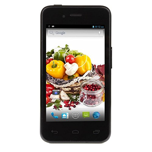 "Utime U6,Blue,4.0""Inch 480X800 Wvga, Rear Camera 2Mp+Front Camera 0.3Mp, Operation System:Android4.2.2"