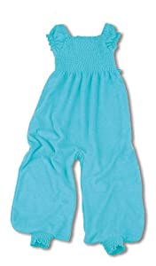 Baby Boum 6-24 Months Tog Jumpsuit cum Sleeping Bag with Smock Detail (Azur, Firil Collection)