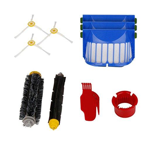 Kit di sostituzione per iRobot Roomba 600 610 620 650 serie, Hmeng Aspirapolvere Kit accessori di ricambio