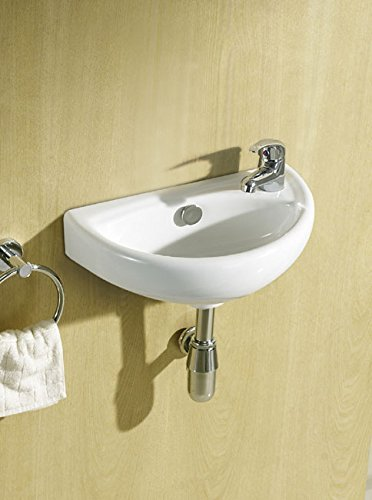 Cheap Price Compact Small Cloakroom Basin Sink Tap Trap