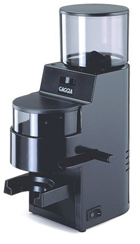 Gaggia 8002 MDF Burr Grinder with Doser, Black Best Deals