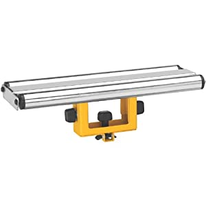 Dewalt Dw7027 Wide Roller Material Support Table Saw Accessories
