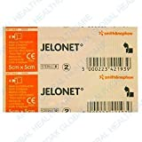 JELONET QTY 10 Individually wrapped sterile paraffin gauze dressing BP (normal)