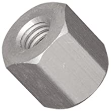 "Hex Standoff, Aluminum, Plain Finish, Female, Right Hand, 4-40 Screw Size, 3/16"" Length (Pack of 25)"