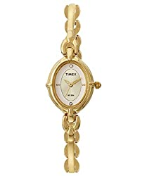 Timex Classics Analog Off-White Dial Womens Watch - LK20