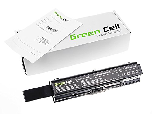 Green Cell® Extended Series Laptop Notebook Akku Batterie für Toshiba Satellite L500-208 (6600mAh)