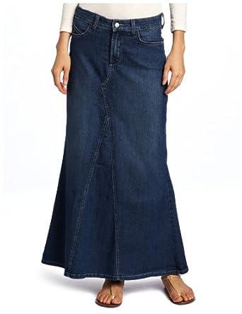 NYDJ Womenu0026#39;s Brooke Long Skirt Louisiana Wash 0 at Amazon Womenu2019s Clothing store