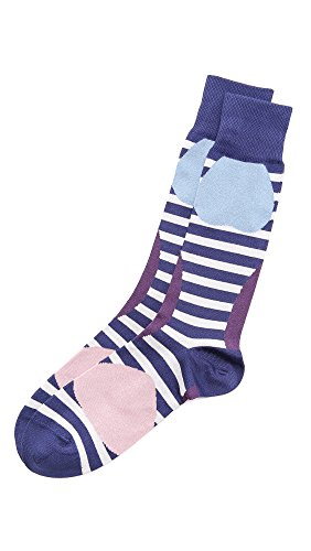 цена Paul Smith Men's Wobble Stripe Socks онлайн в 2017 году