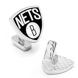 NBA Brooklyn Nets Cufflinks by Cufflinks Inc.