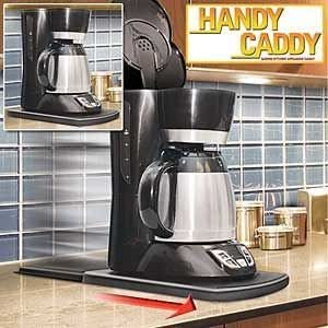 1 X Handy Caddy Sliding Kitchen Under Cabinet Appliance Moving Caddy