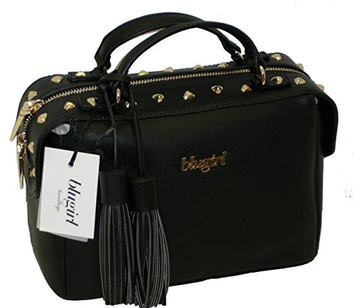 Borsa BAULETTO con tracolla due manici BLUGIRL BG 819001 shoulder bag NERO