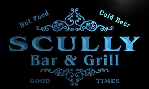 u40312-b-scully-family-name-bar-grill-home-decor-neon-light-sign-enseigne-lumineuse