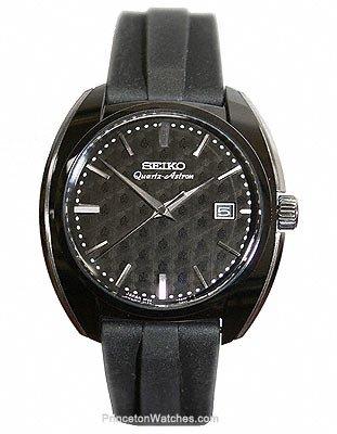 Seiko Quartz Astron Limited Edition - Titanium Case - Black Silicone Strap