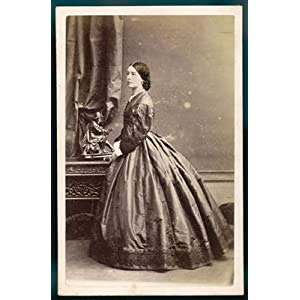 costume   photo 1860s   art print   medium   28x35cm