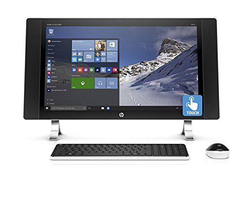 HP Envy 24-Inch Touchscreen FHD IPS All-in-One Desktop Computer (Intel Quad-Core i5-6400T 2.2GHz up to 2.8GHz, 8GB RAM, 1TB HDD, Wifi, Windows 10 Home) (Certified Refurbished) (Quad Core All In One Computers compare prices)