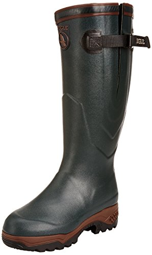 Aigle Rubber Boots Unisex-Adult Parcour 2 ISO Hunting Boots 84217 Bronze 3.5 UK, 36 EU