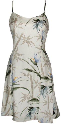 paradise-found-womens-bamboo-paradise-princess-seam-mini-sundress-cream-s