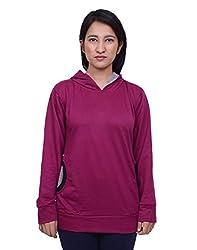 Snoby Purple Hoody Jacket (SBY11025)