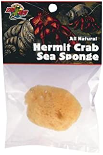 Zoo Med Laboratories SZMHS10 Hermit Crab Sea Sponge