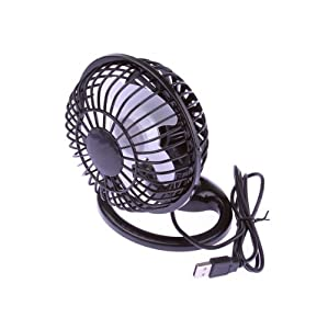 Light Weight Portable PC Laptop Black Mini Non toxic USB Powered Desk Table USB Cool Cooling Fan available at Amazon for Rs.3244.15